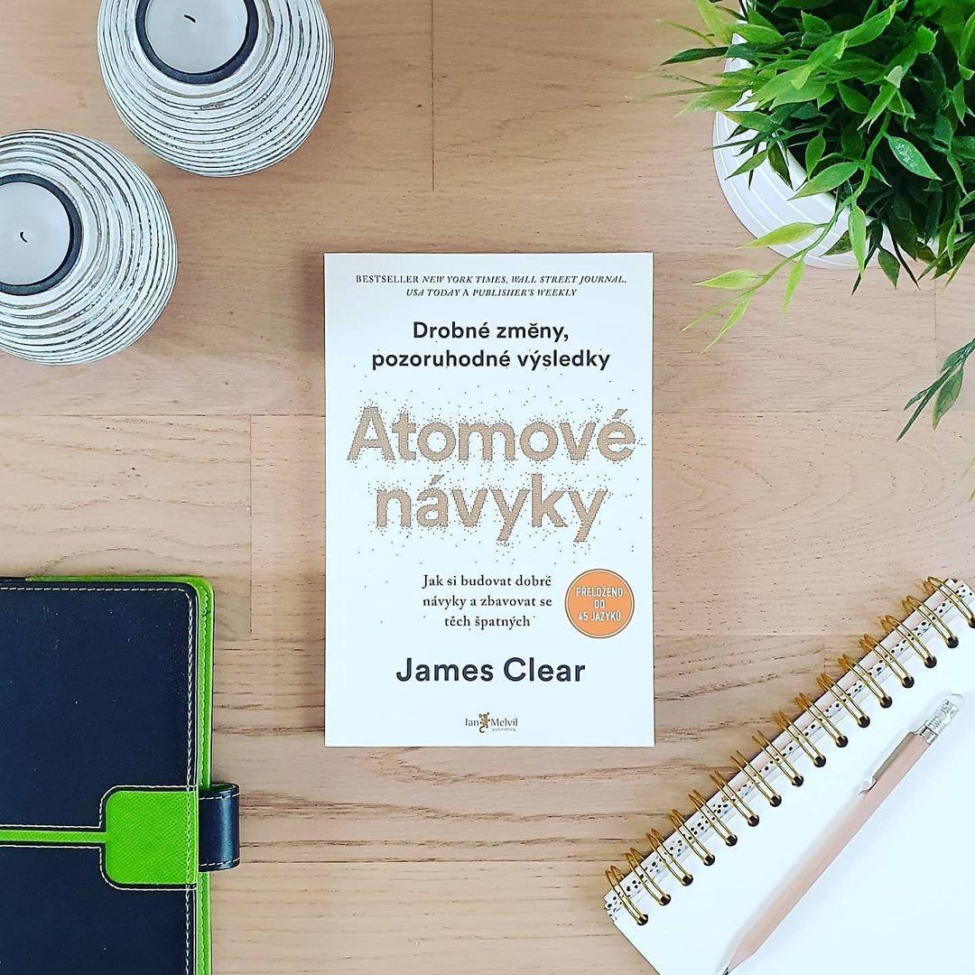 Atomové návyky (Atomic Habits) - James Clear