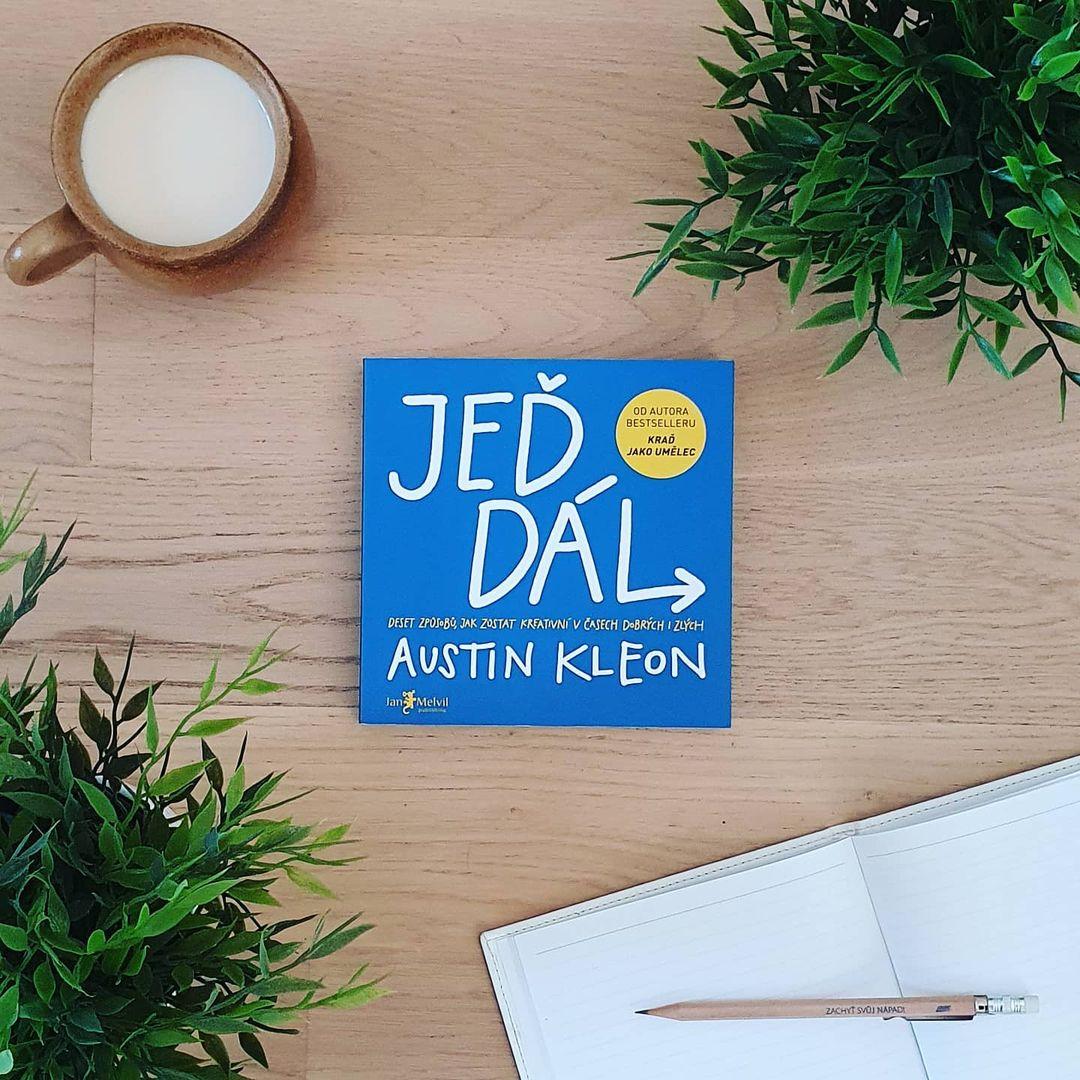 Jeď dál (Keep Going) - Austin Kleon
