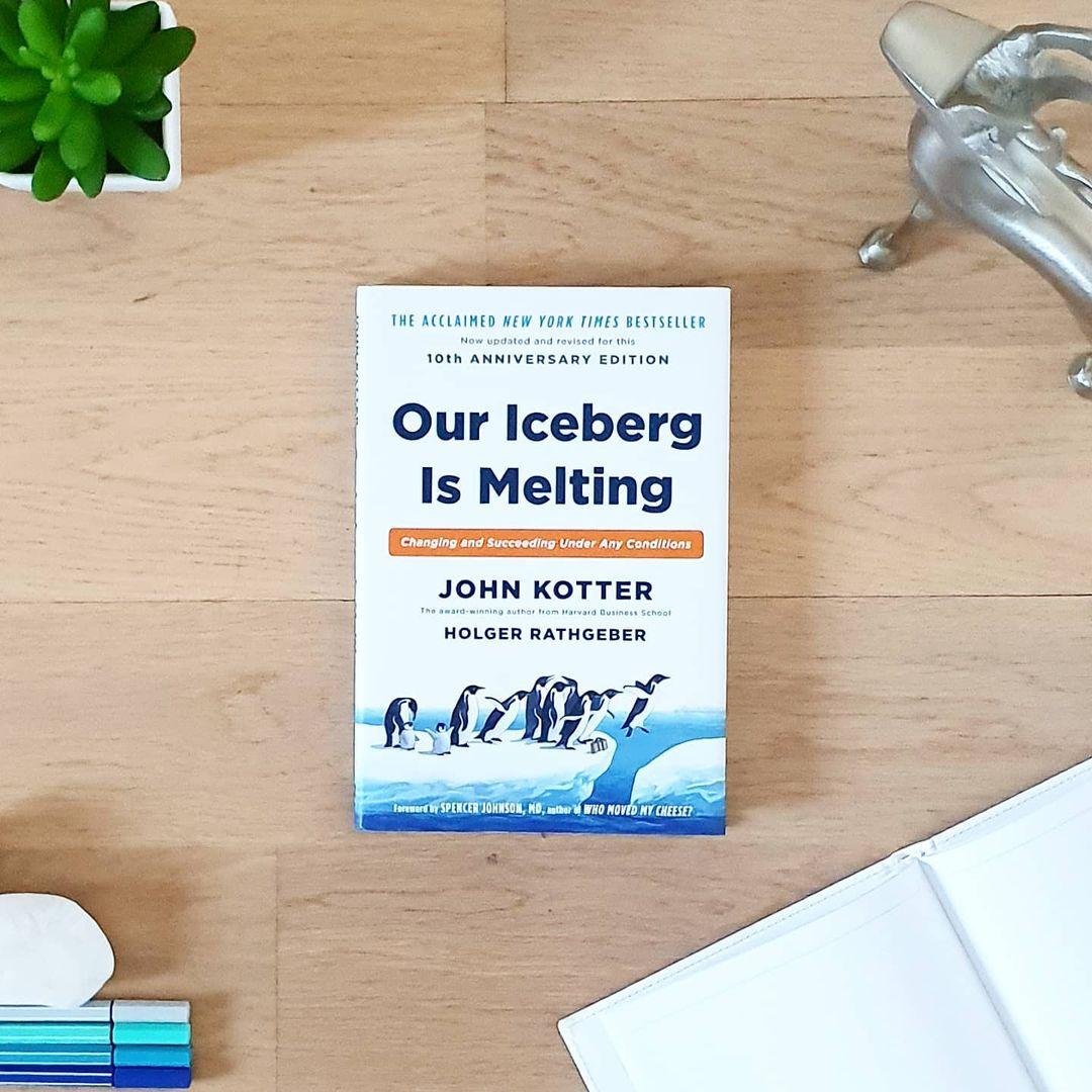 Náš ledovec se rozpouští (Our Iceberg Is Melting) - John Kotter