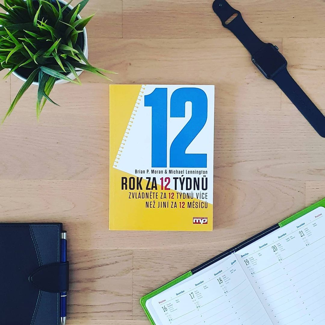 Rok za 12 týdnů (The 12 Week Year) - Brian P. Moran, Michael Lennington